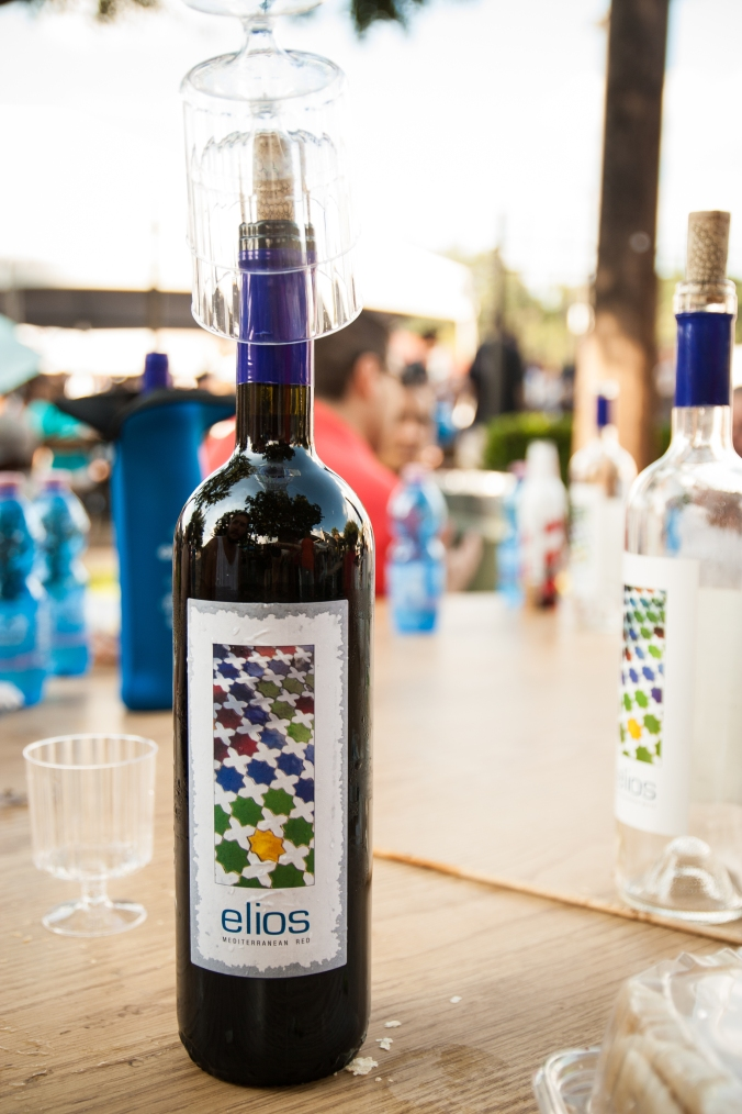 Elios wine at greek fest
