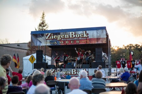 stage at german festival