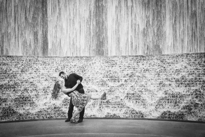 Houston Engagement Waterwall