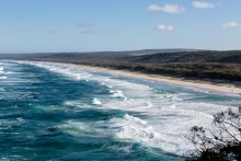 beach on stradbroke island