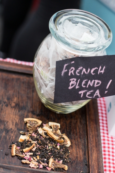 french blend tea