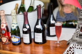 champagne at french festival
