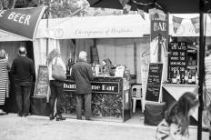 french festival champagne bar